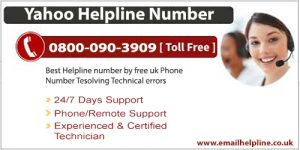 yahoo helpline number uk