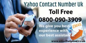 Yahoo Contact Number UK