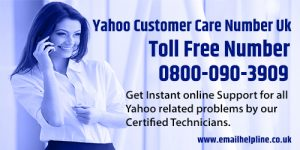 yahoo customer care numbr uk