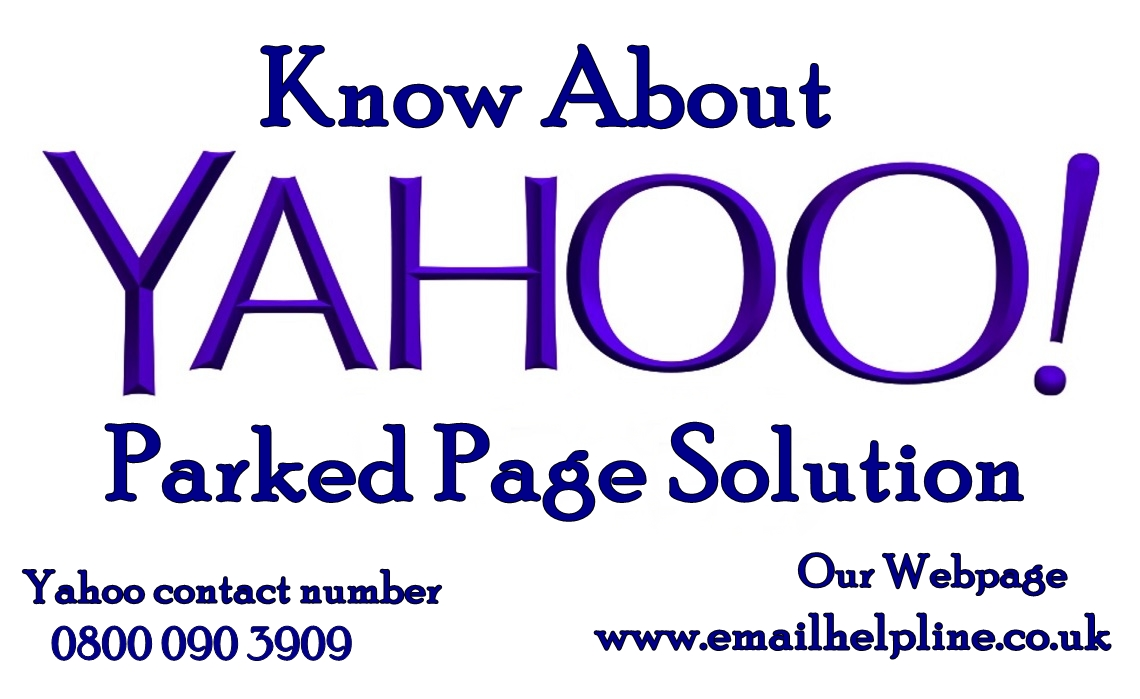 Yahoo Parked Page Solution
