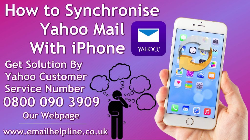 How to sync yahoo mail with iPhone