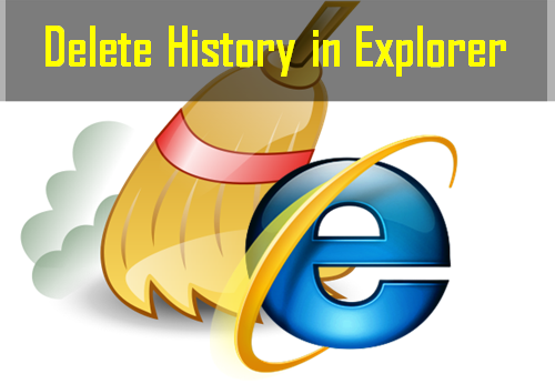Delete history in explorer