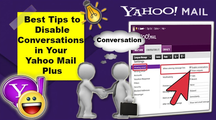 Disable Conversations in Yahoo Mail Plus